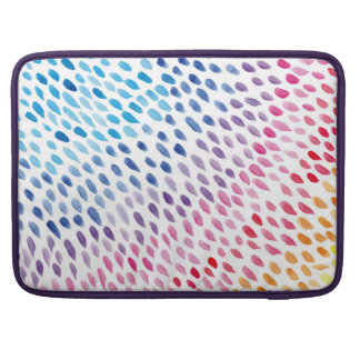 Funda Para MacBook Pro Watercolor Rainbow
