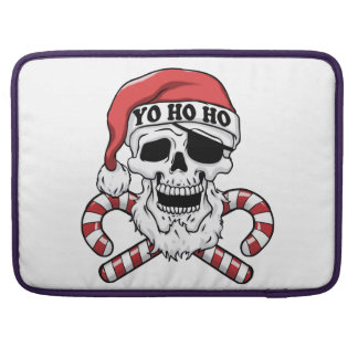 Funda Para MacBook Pro Yo ho ho - pirata santa - Papá Noel divertido