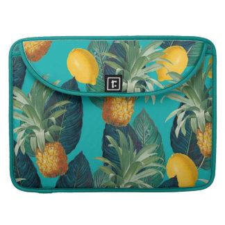 Funda Para MacBook trullo del pineaple y de los limones