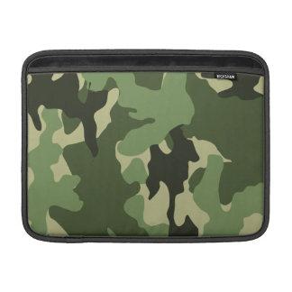 Funda Para MacBook Verde de Camo manga de aire de Macbook de 13