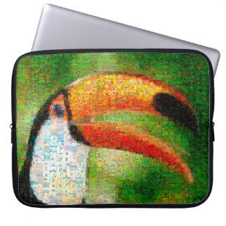 Funda Para Ordenador Arte del collage-toucan de Toucan - arte del