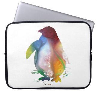 Funda Para Ordenador Arte del pingüino