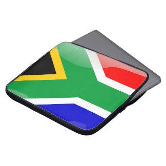 Funda Para Ordenador Bandera brillante de Suráfrica