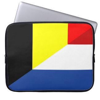 Funda Para Ordenador bandera de país de la bandera de Bélgica del