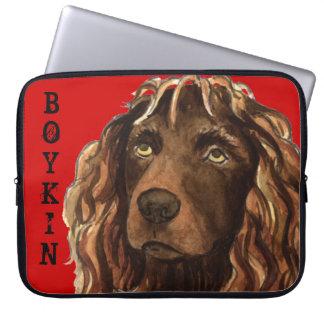 Funda Para Ordenador Bloque del color del perro de aguas de Boykin