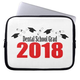 Funda Para Ordenador Casquillos y diplomas del graduado 2018 de la