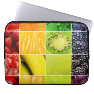 Funda Para Ordenador Collage colorido multi de la fruta