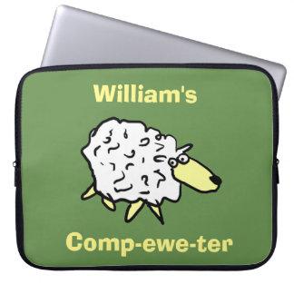 Funda Para Ordenador ¡Comp-oveja-ter del diseño de las ovejas!