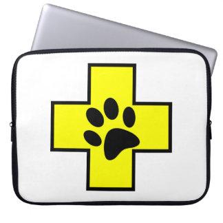 Funda Para Ordenador el PE veterinario del doctor de la muestra del
