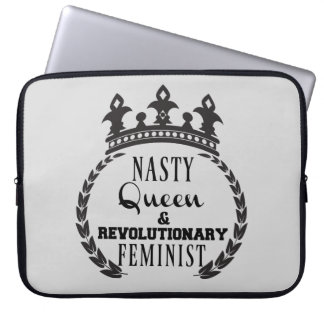 Funda Para Ordenador Feminista de la reina
