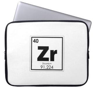 Funda Para Ordenador Formul de la química del símbolo del elemento