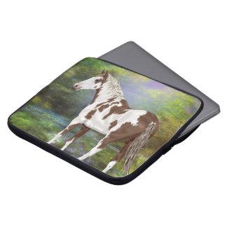 Funda Para Ordenador Impresión del caballo de la pintura de Tovero del