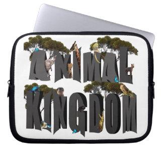 Funda Para Ordenador Logotipo con los animales, 10 pulgadas del reino