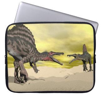 Funda Para Ordenador Lucha del dinosaurio de Spinosaurus - 3D rinden