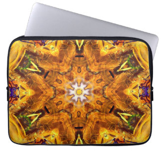 Funda Para Ordenador Mandala coloreada multi de oro