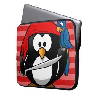 Funda Para Ordenador Manga linda del cuaderno del pirata del pingüino
