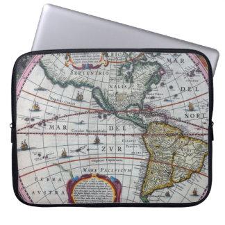Funda Para Ordenador Mapas viejos de América
