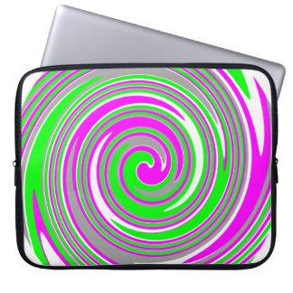 Funda Para Ordenador Modelo colorido del remolino