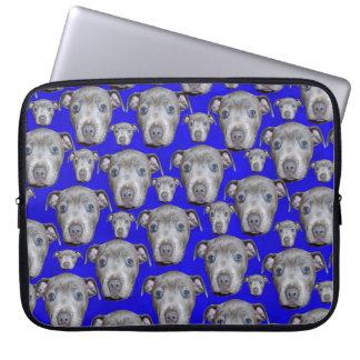 Funda Para Ordenador Modelo del perrito de Staffordshire bull terrier,