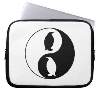 Funda Para Ordenador Pingüino de Yin Yang