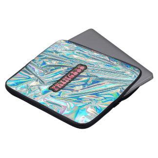 Funda Para Ordenador Princesa iridiscente Laptop Sleeve