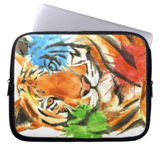 Funda Para Ordenador Salpicadura del tigre