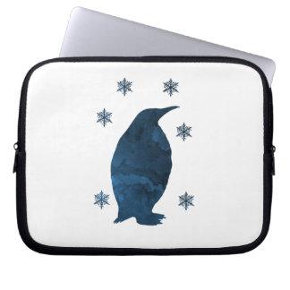 Funda Para Ordenador Silueta del pingüino