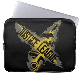 Funda Para Ordenador Símbolos de la liga y del equipo de justicia de la