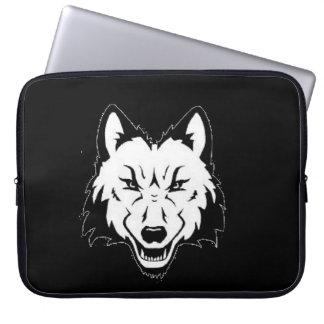Funda Para Ordenador Tenedor de Chomputer de la cuadrilla del lobo