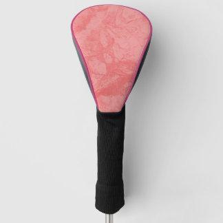 Funda Para Palo De Golf Chapoteo de mármol rosado