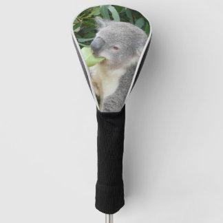 Funda Para Palo De Golf Koala que come la hoja de la goma