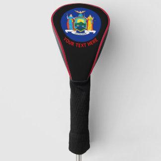 Funda Para Palo De Golf Personalizó su bandera del Estado de Nuevo York