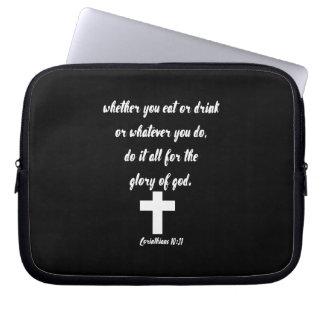 Funda Para Portátil 10:31 de los Corinthians
