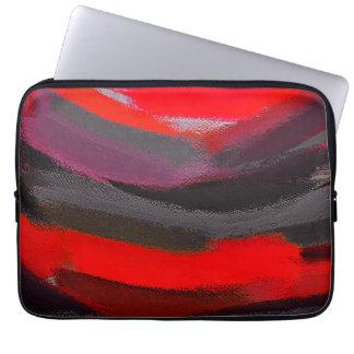 Funda Para Portátil Arte abstracto del color
