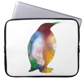 Funda Para Portátil Arte del pingüino