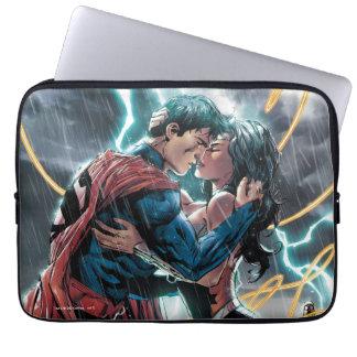 Funda Para Portátil Arte promocional cómico del superhombre/de la
