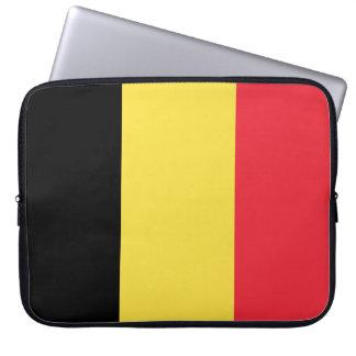 Funda Para Portátil Bandera nacional de Bélgica