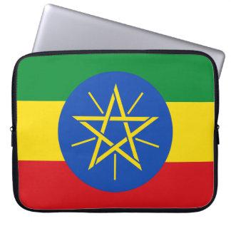 Funda Para Portátil Bandera nacional del mundo de Etiopía