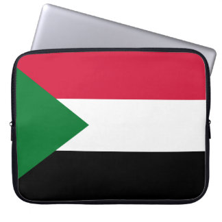 Funda Para Portátil Bandera nacional del mundo de Sudán