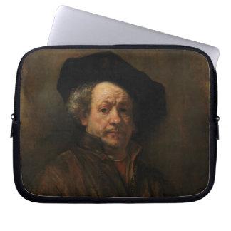Funda Para Portátil Bella arte del autorretrato de Rembrandt Van Rijn