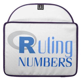Funda para portátil de Ruling numbers