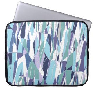 Funda Para Portátil El azul es manga púrpura del top del revestimiento
