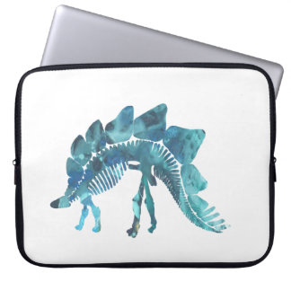 Funda Para Portátil Esqueleto del Stegosaurus
