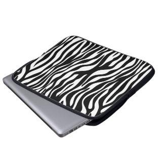 Funda Para Portátil Estampado de zebra