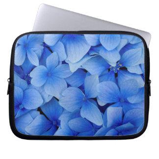 Funda Para Portátil Flores azules del Hydrangea