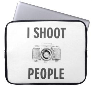 Funda Para Portátil fotógrafo divertido de la cámara de la foto del
