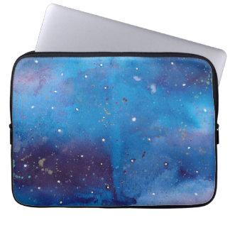 Funda Para Portátil Galaxia azul marino