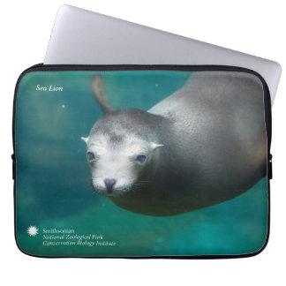 Funda Para Portátil León marino de Smithsonian el  