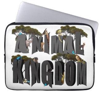 Funda Para Portátil Logotipo con los animales, 13 pulgadas del reino