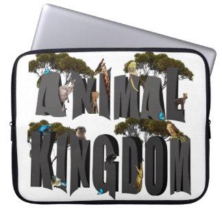 Funda Para Portátil Logotipo con los animales, 15 pulgadas del reino